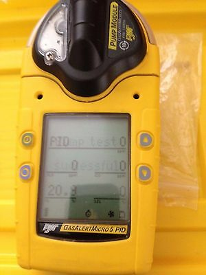 BW Tech Gas Alert Micro 5 Gas Detector - 02/LEL/CO and H2S, new oxygen