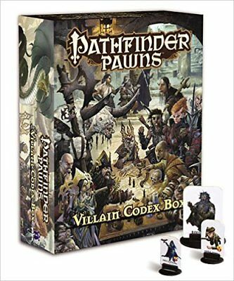 Pathfinder Pawns: Villain Codex Box [Game] [Mar 07, 2017] Staff, Paizo …