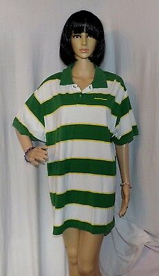 John Deere Polo Shirt, Vintage Old School, Colors, Size XL LOW & FAST Shipping