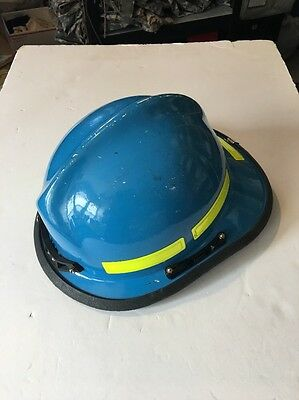 Cairns Commando HP3 Helmet Fire and Rescue/EMS, model: C-Mod-Blue Used