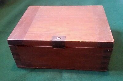 Large Old Wooden Box