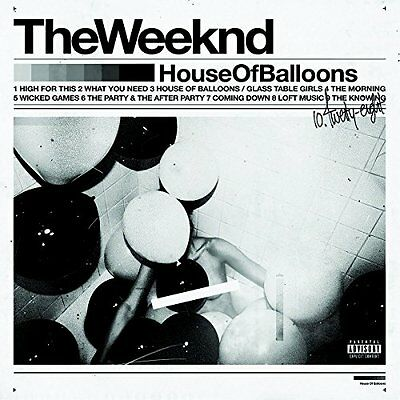 NEW - House Of Balloons [2 LP] by The Weeknd