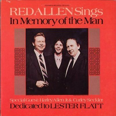 Allen,red-In Memory Of The Man: Dedicated To Lester Flatt  (Us Import)  Cd New