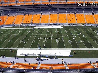 (4) Steelers vs Titans Tickets 50 Yard line Upper Level 10th Row!!