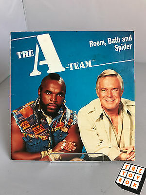 Rare The A Team Room Bath and Spider Book 1984