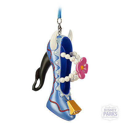 Authentic Disney Parks Clarabelle Cow Runway Shoe Ornament Collection Holiday