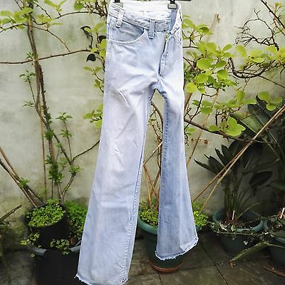 Vintage Flared Jeans 70's  early original Dickies Denim.