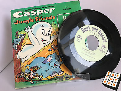 Peter Pan Book and Recording Casper the Friendly Ghost Vinyl Record