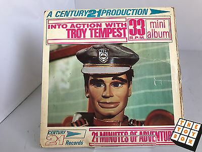 A Century 21 Production Into Action with Troy Tempest Mini Album Vinyl