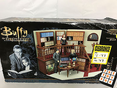 Buffy the Vampire Slayer Library Playset Never Used in Box