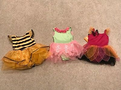 GYMBOREE Baby Girl 3 piece costume lot - Size 12-18 months