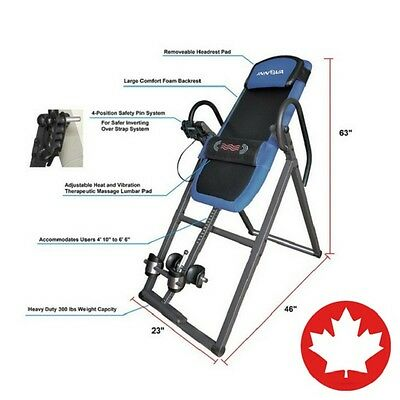 Innova ITM4800 Advanced Heat and Massage Therapeutic Inversion Therapy Table NEW