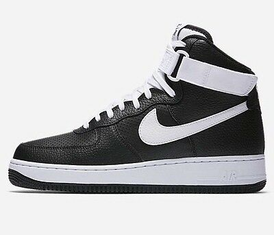 best sneakers 63f2d 23959 NIKE AIR FORCE 1 AF1 High '07 Black/White 315121-040 SZ: 12
