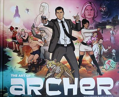 The Art of Archer by Sterling Archer Hardcover 1st Edition Book 2016 MINT
