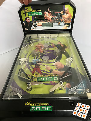 WWF Wrestling Wrestlemania 2000 Childs Mini Pinball Machine