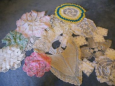 Large Lot Of 22 Doilies..some New, Some Not So New!!..(A45)