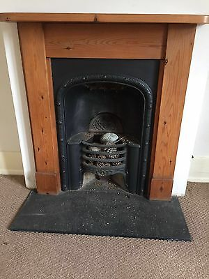 original cast iron fireplace and surround