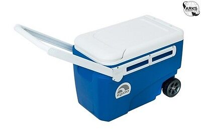 IGLOO Contour Glide 38 Coolbox - Blue/White - 00045756