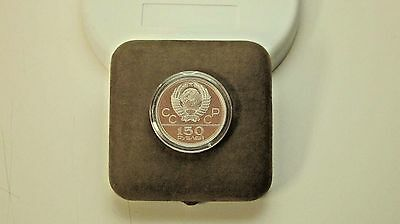 1980 Moscow Olympics Proof Platinum 150 Rubles OGP