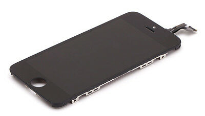 For iPhone 5C Replacement LCD Full Front Screen and Digitizer Assembly BLACK