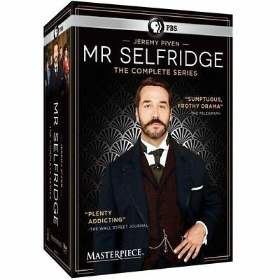 Masterpiece: Mr Selfridge - The Complete Series Seasons 1-4 Collection DVD 2016