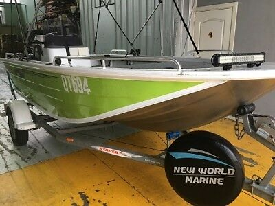 Stacer Barra Elite 439 Fishing Boat with Honda 40hp 4 stroke gal trailer