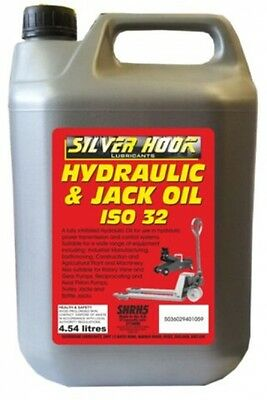 Silverhook SHRH4 ISO 32 Hydraulic Oil, 4.54 Liter