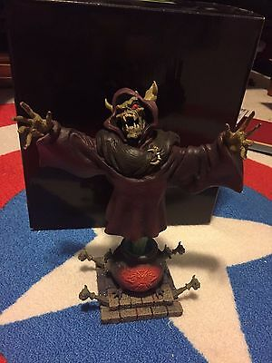 Grand Jester Bust HORNED KING Disney villain RARE!