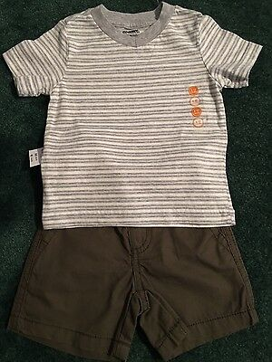 Baby boy Gymboree summer outfit 6-12 months. Shorts and shirt. NWT RV: $43.90