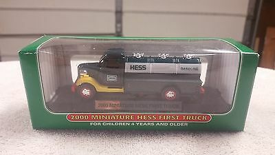 2000 Mini Hess Truck - NEW IN BOX - 3rd in Series