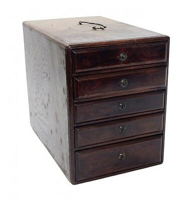 Antique Chinese Wood Jewelry Chest
