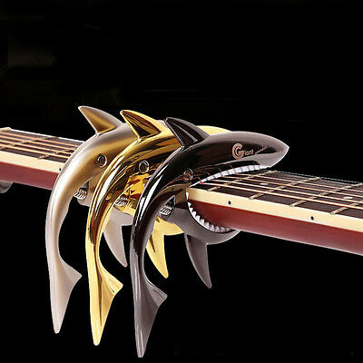 Professional Peculiar Shark Shape Guitar Capo Musical Instruments Parts Gift