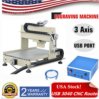 USB 3 axis 3040 CNC Router Engraver Engraving Milling Drilling Machine 3D Cutter