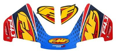 FMF Racing 14821 Factory 4.1 Aluminum RCT End Cap Wrap Decal