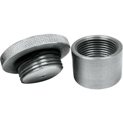 LA Choppers LA-7450-00 Vented Gas Cap with Weld-On Bung