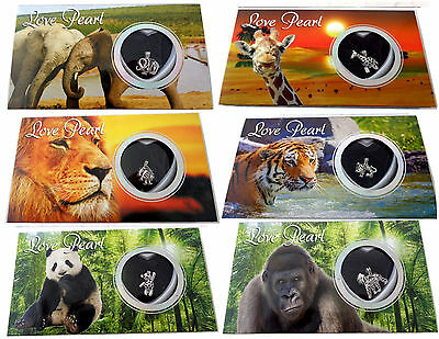 Love Pearl Wish Pearl Kit Necklace Gift Box Jewelry Wild Animal's Gift Box