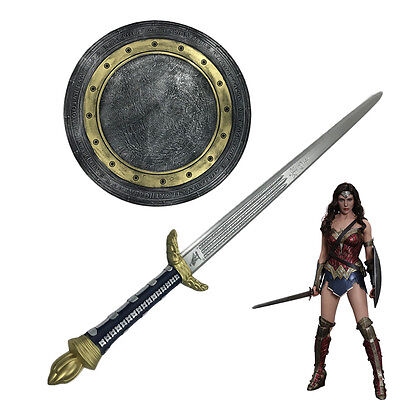 The Justice League Wonder Woman Sword and Shield Cosplay Props High Quality