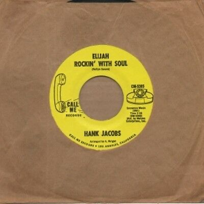 Hank Jacobs - Elijah Rockin With Soul - Call Me 2nd - Northern Soul Crossover Mo
