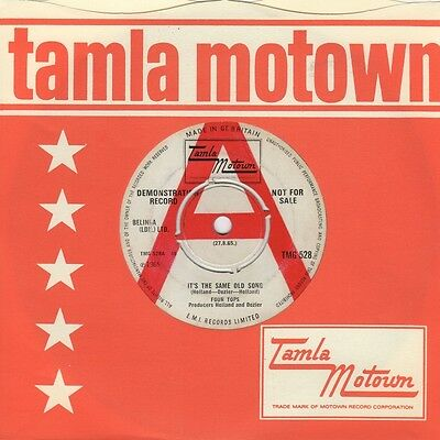 Four Tops - It's The Same Old Song / Your Love Is Amazing - Tamla Motown TMG 528