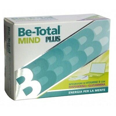 Be-Total Mind Plus Integratore 20 Bustine Vitamina B Fosfoserina E Glutammina