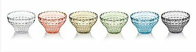 Fratelli Guzzini, Set 6 Copette, Tiffany, Multicolore, 12 cm