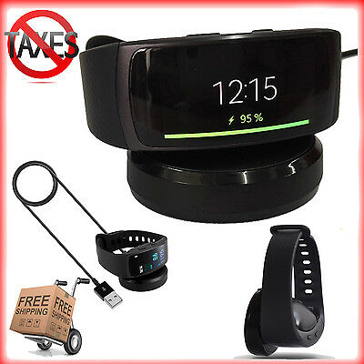 Charger For Samsung Gear Fit 2 Smart Watch Dock USB Charging Cable Replacement