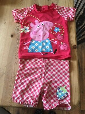 18-24 months girls Peppa Beach/swimming Suit