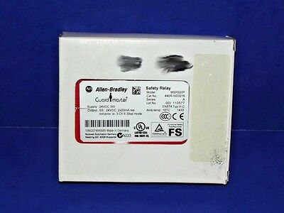 NEW IN BOX Allen Bradley 440R-W23218 /A Modular Safety Relay GUARDMASTER