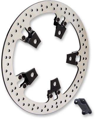 Arlen Ness Big Brake 14 Floating Right Side Rotor Kit for Harley Touring 14-15""