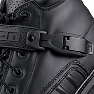 Icon Super Duty 4 Boots Buckle and Strap Kit Black - Icon 3430-0355