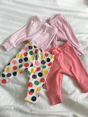 gap baby girl Romper Pants soft Bottoms trousers Leggings age 0-3 months
