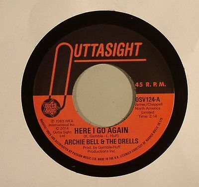 "BELL, Archie & THE DRELLS - Here I Go Again - Vinyl (limited 7"")"