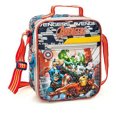 Marvel Avengers Premium Deluxe Cooler Insulated School Travel Lunch Bag