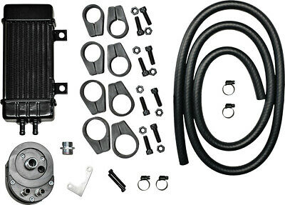 JAGG WIDELINE OIL COOLER SYSTEM Fits: Harley-Davidson XL1200T Super Low Touring,